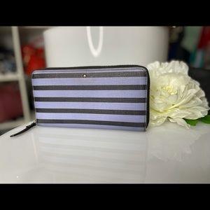 Preloved Kate Spade Stripe Wallet